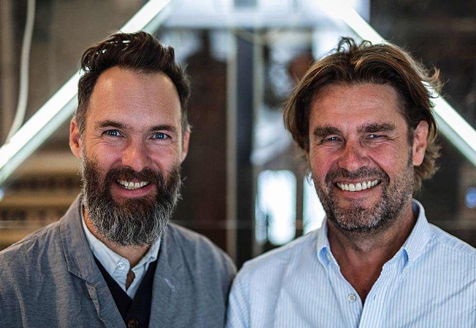 Jerker Fagerström, kreativ leder Norden, og Haakon Dahl, Chief Comms for Publicis